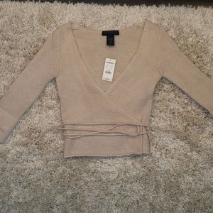 Express wrap Sweater